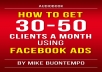give you audiobook to help you find clients using fb ads