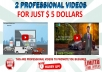 make 2 Animated And Avatar Videos 4 Car Dealerships In 24 Hrs