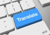 I translate texts from English to Portuguese, mainly in the area of marketing and journalistic articles. If the text has up to 2000 words it`s delivered in 24 hours.