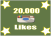 Give you 20000 Instagram likes