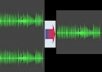 edit or mix two audio files mp3 wav to one audio file mp3