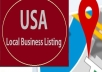 do 20 Local Business Listing in USA