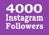 add 4000 instagram real active followers