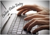 Copy Type and Data Entry