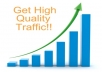 I will send high-quality visitors to your website or affiliate link. You will get about a minimum of 200 visitors a day until it reaches the maximum! I will provide you with a tracking URL so you can track that you get the visitors. Place your order now, and I will start your campaign ASAP!