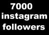Instagram is the one of the fastest growing social network which offers great exposure for individuals and businesses.As everyone try to judge your profile by the number of followers and numbers of like on your social status, same rule also apply on Instagram.Instagram have currently 300 Million Monthly active users and I'm sure no one want to miss the opportunity.With our highly secure Instagram followers plan, you can make your online presence very well and engage those who want to have business with you.We offer following in this 7000 real active Instagram follower package.Only Quality Real Followers 100% Satisfaction 24×7 Support No password required No need to follow others Fastest delivery online More Secured Method Privacy Protection Safe and Professional Service Money Back Guarantee