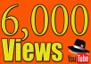 add 6,000+ youtube views