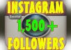 give 1,500 Instagram Followers