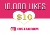 Add 10,000 Instagram Photo/Post Likes