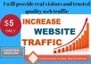 Send 20,000 USA Traffic, Website Visitors, From Top 3 Search Engines