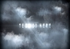 create this awesome Stormy Cloud Cinematic video with your text