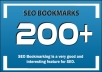 Dofollow 150+ High Authority seo link building