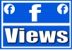 Add 30,000 FB VIDEO VIEWS