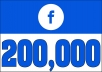 Add 200,000 FB VIDEO VIEWS