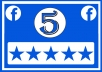 Add 500 Five Star Rating to your Fan page