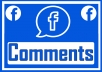 Add 500 Facebook Custom Comments