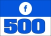 Give 500 Facebook Post likes