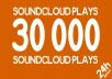 Boost your SoundCloud song with 30 000 Plays