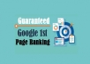 Rank You In Google 1st Page
