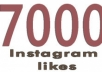 Add 7,000 Instagram Videos/Photo/Post Likes for