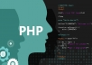 write php script for you