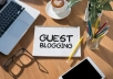 Do Guest Post Blogging Services