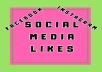 Follow, like, comment and share your social media posts