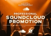 Do 100% real  Soundcloud Promotion For Tracks To US Audience