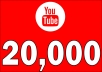 Add 20,000 YOUTUBE FAST VIEWS
