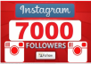 give 7,000 Instagram Followers for