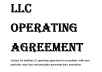 Write Llc Operating Agreement And other legal agreement and Legal Contracts
