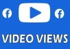 """You have NOW opportunity to purchase Facebook Video Views. This can only be purchased from us and it is an absolute pro tip.    Within 24 hours, you will receive real """"Facebook Video Views"""" on your Facebook video. Because these are real views, it will extend your video's reach. This can also increase your Facebook fan count. We start our work in the first 24 hours.  Results Start Appearing in 12 -48 Hours No need any admin access Helps You Gain Instant Credibility for Your  Videos No Video Delete Issues. No Bots, No proxies too. Ad sense Safe!"""