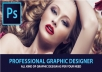 do Photoshop Editing or Any Type Graphic Work