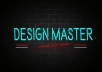 design a professional letter gif of all styles that will be eye catching