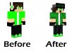 Have you always wanted a custom minecraft skin? Well you've came to the right place! I will make a custom minecraft skin from your favorite character or even yourself. I can always edit your own current skin aswell if you want any edits.