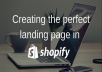 Design A Shopify Landing Page To Upsell Your Product