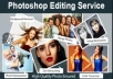 Do Professional Photoshop Editing On Your Images