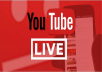 add 100 to 400 livestream views youtube, yt for few hours days free trial