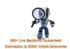 submit your article to 2000+ article directories and get 200+ live backlinks with AMR Article Marketing Robot