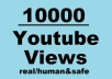 In this service, I can give you 10,000+ Non-Drop YouTube Views with  Lifetime Guarantee