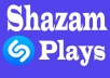 Give you 1000 Real USA Shazam Plays Promotion Your Remix