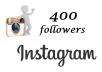provide you 400+   Instagram Followers  with  guarantee
