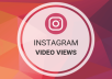 give 15K Instagram Video Views With Impression