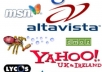 submit your website to 818,000 search engines from all over the world which will increase your page rank and traffic in short time
