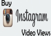 Fast 15,000+ Instagram video views HIgh Quality & non Drop
