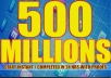 Promote to(500 MILLIONS) Real People on Facebook For your Business/Website/Product or A