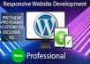 create a professtional websites