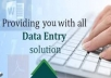 provide my services as DATE ENTRY OPERATOR