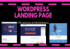 Make Wordpress Landing Page Or Sales Page