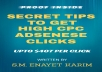 Give You Secret Tips To Get 407 USD Per Click From Adsense Ads